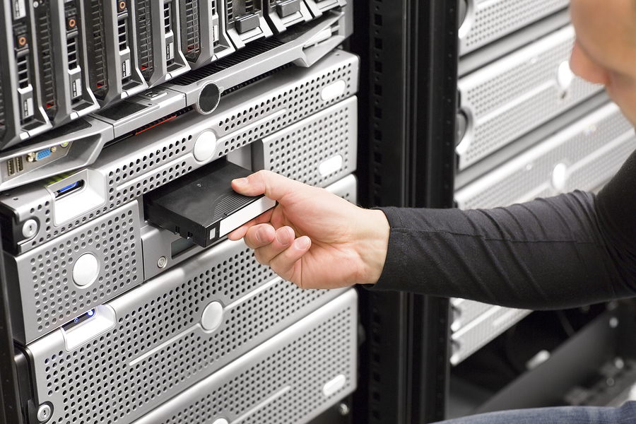 Make sure your critical business files are backed up- tape storage and vaulting protects your data in a secure offsite facility