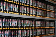Backup your data on magnetic tapes for a secure and efficient backup storage method.