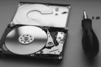 Mechanical failure on a hard drive